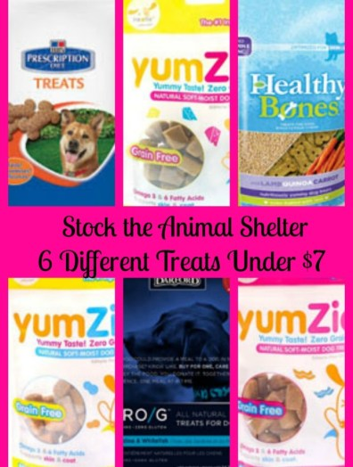 Stock the Animal Shelter