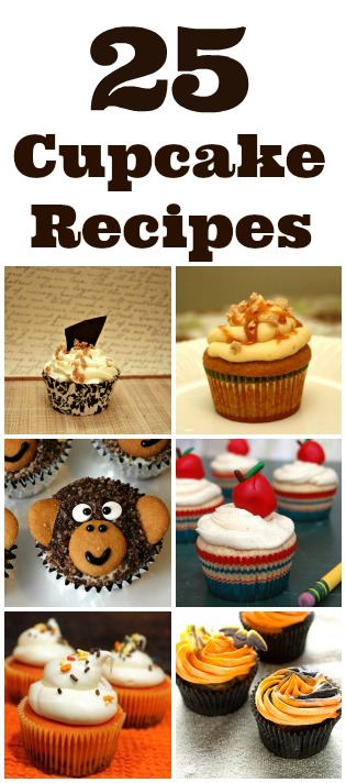 25 Cupcake Recipes