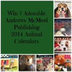 win 7 adorable Andrews McMeel Publishing 2014 animal calendars