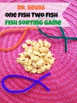 Dr. Seuss Game – Dr. Seuss One Fish Two Fish Sorting Game