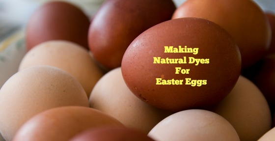 Making Natural Dyes For Easter Eggs