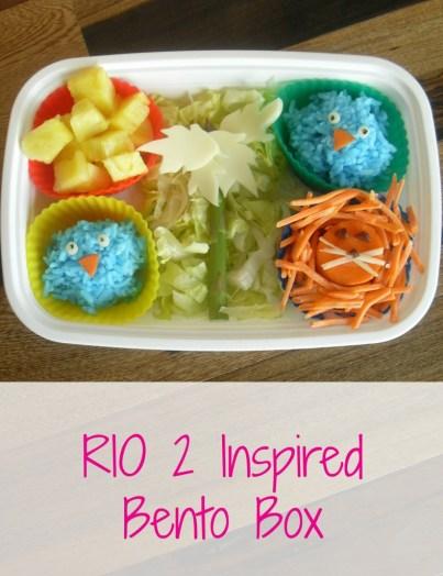 RIO 2 Inspired Bento Box