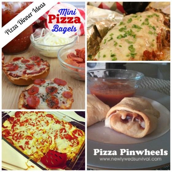 Pizza Dinner Ideas #Recipes