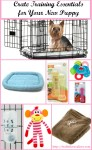 New Puppy Crate Training Essentials For #CrateHappyPets