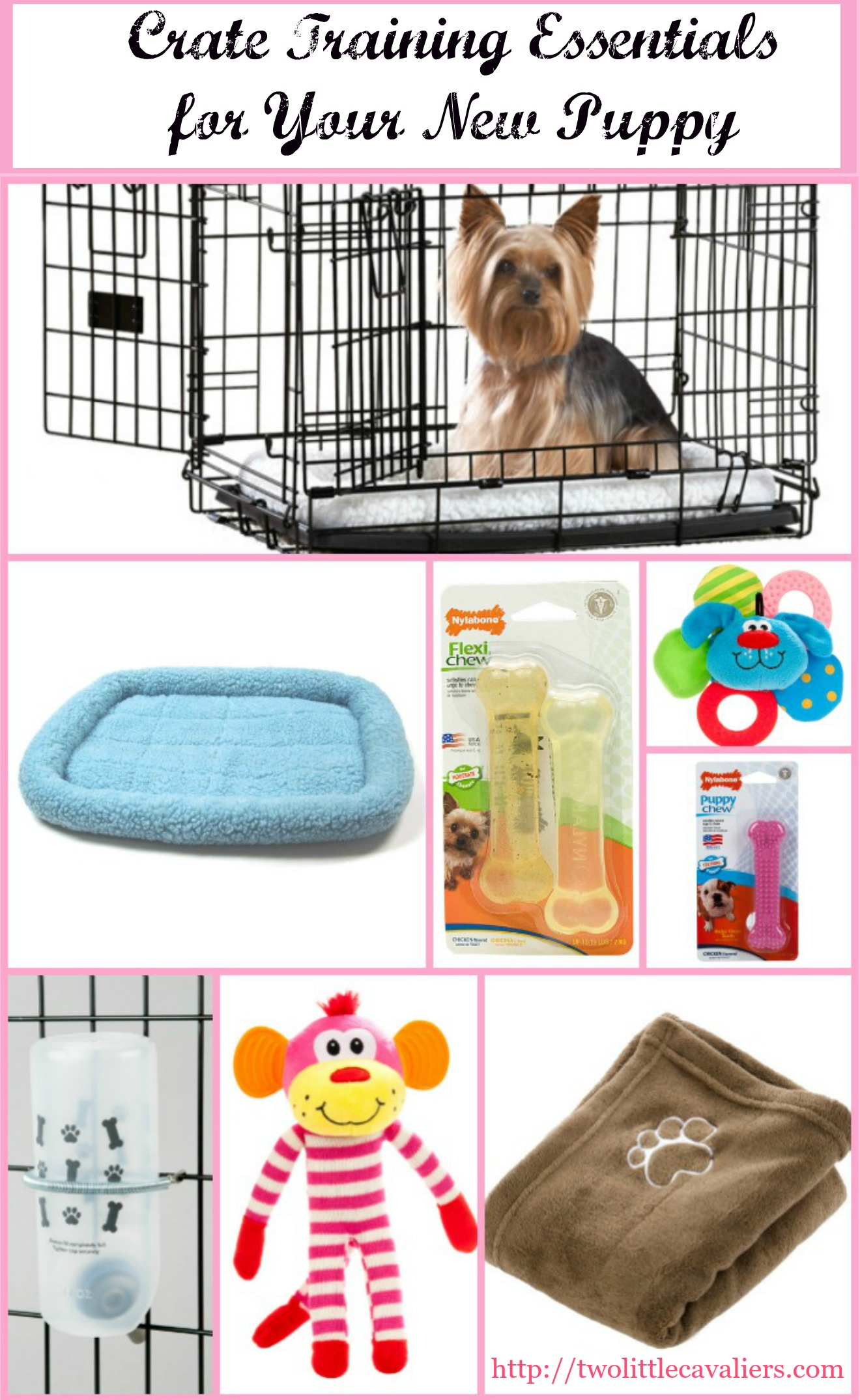 crate training essentials for your new puppy #cratehappypets