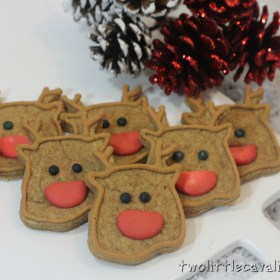 Reindeer Dog Treats #Recipe