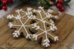 Snowflake Dog Treats Pumpkin Peanut Butter