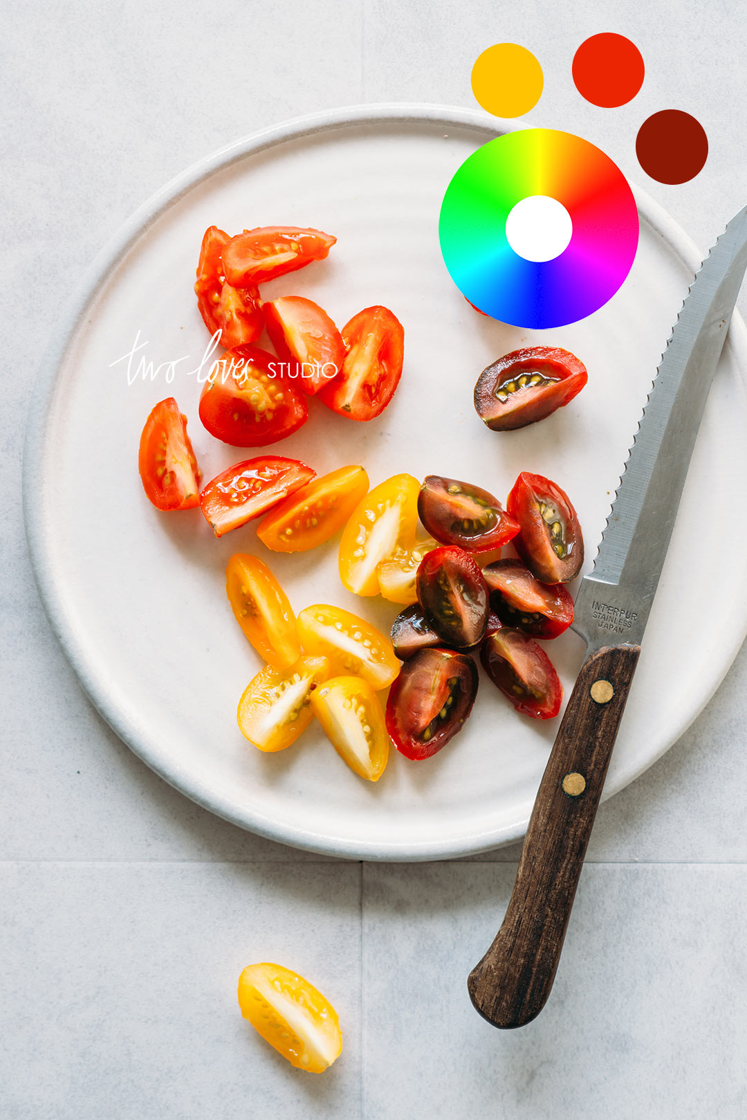 Complementary Colours are a simple, yet effective way to use Colour Theory in food photography. Click to read my favourite way to use it in my shoots.