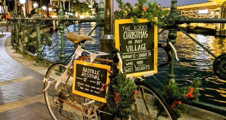 rower świąteczny
