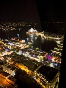 nocna panorama miasta