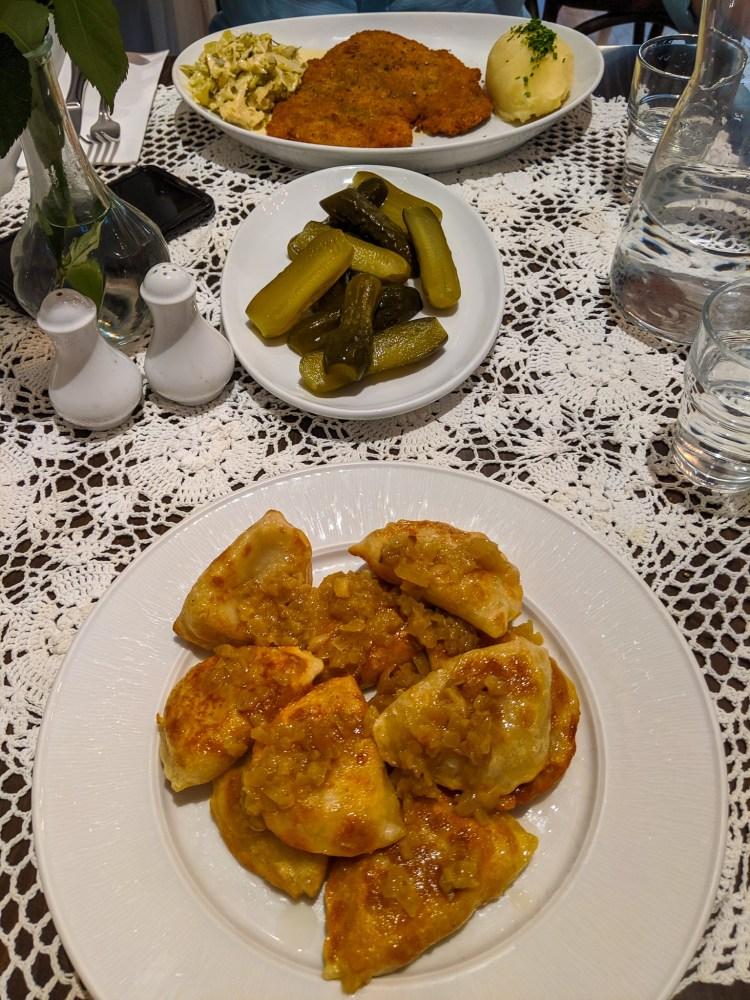 polskie jedzenie w restauracji