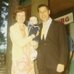 Photo: Baby Robert at the Lone Star Ranch with his grandparents