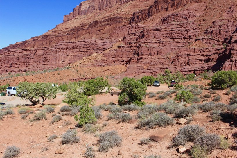 Photo: Fisher Towers Campground near Moab, Utah
