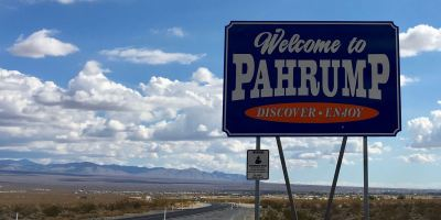 Photo: Pahrump Welcome Sign