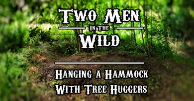 Hanging a Hammock with Tree Huggers