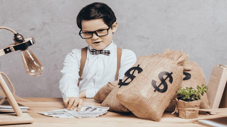 fare soldi da bambino