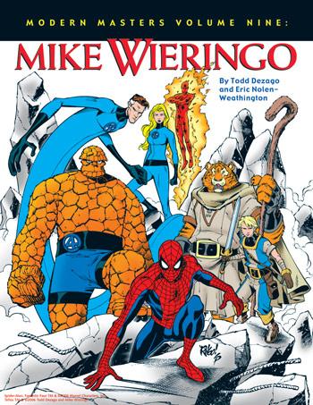 Capa da edição dedicada a Mike Wieringo