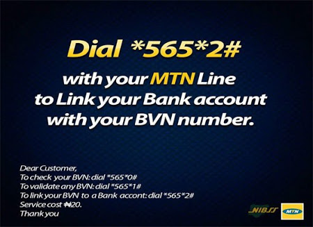 Link bvn to bank account