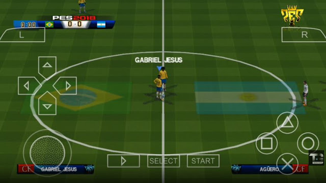 Download PES 2018 ISO File PSP FIFA World Cup Version for