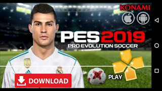 PES 2019 PPSSPP ISO File Download (Pro Evolution Soccer 19