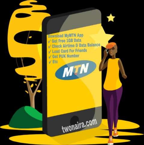 MyMTN App SA free 1gb data