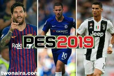 PES 19 Apk Messi Hazard Ronaldo