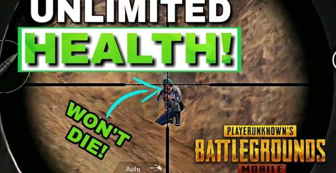 pubg unlimited health