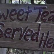 sweet tea served