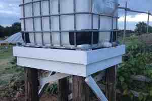 Expert How-to; Build a Water Collection Tower – Easy DIY