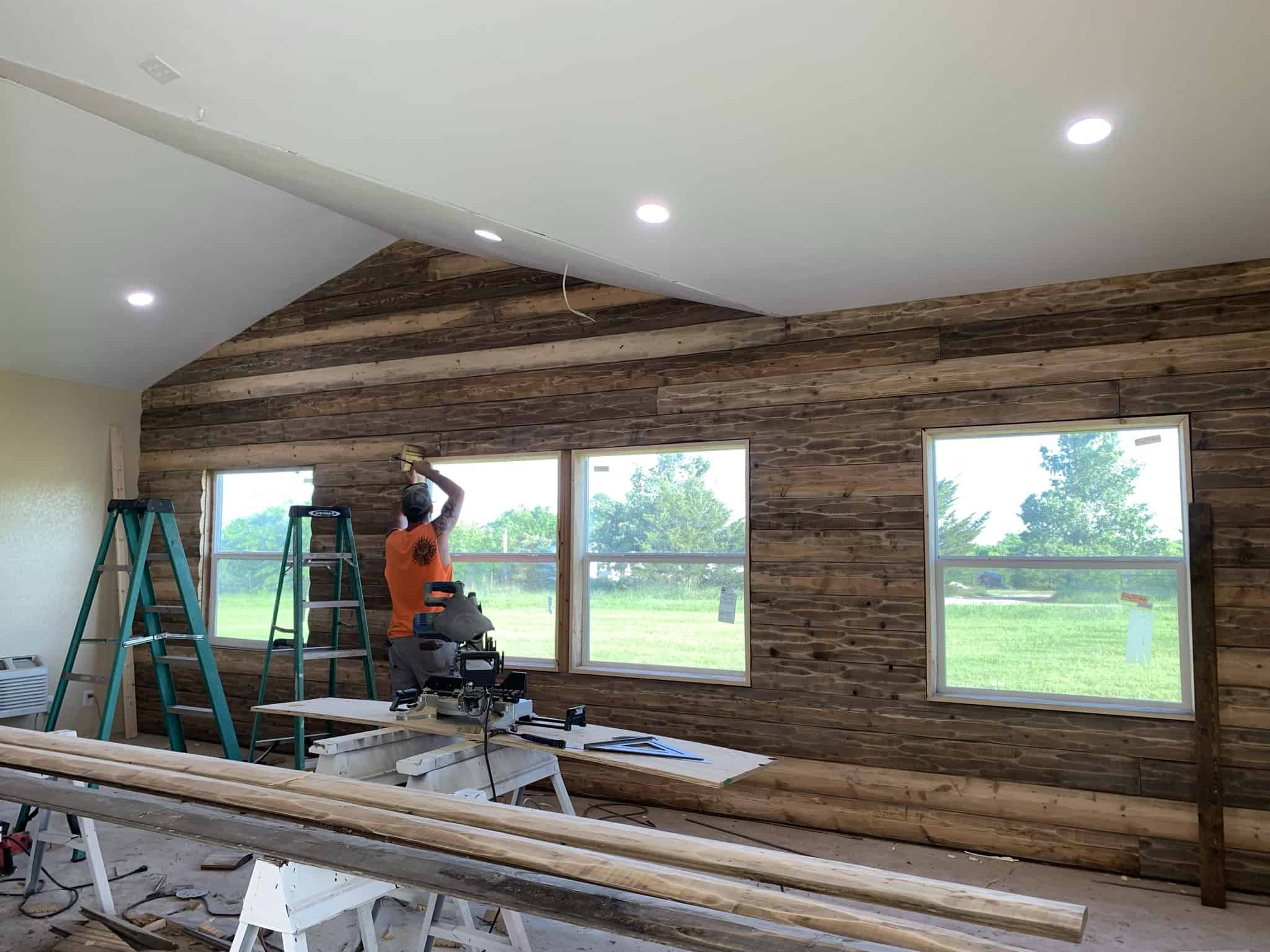 Interior – Working Inside our New Addition