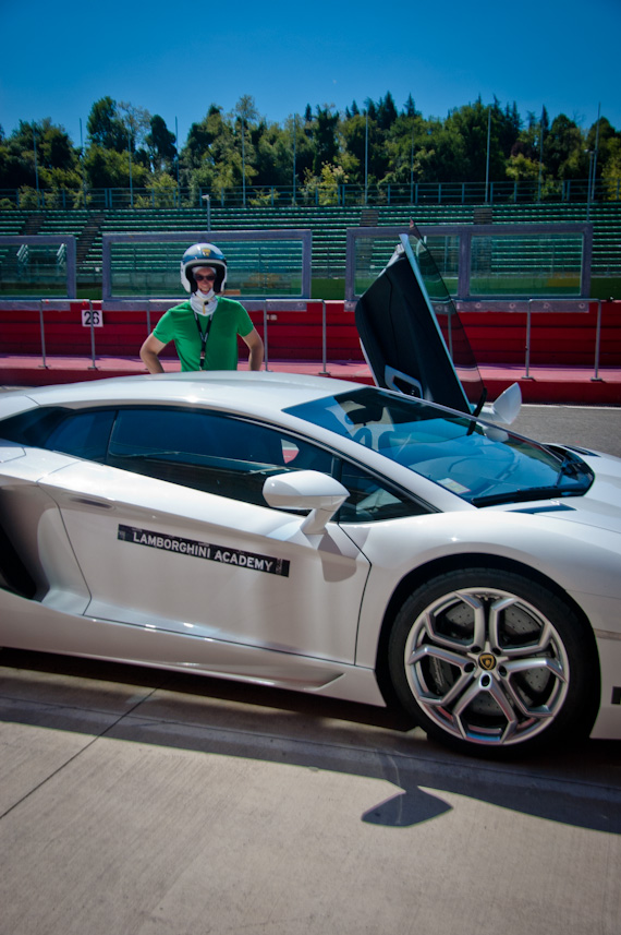 Tedu0027s Favorite Moment Came When They Pulled Around The Aventador, A Seven  Hundred Horsepower Beauty (soon To Be Driven By Bruce Wayne In The Next  Batman ...