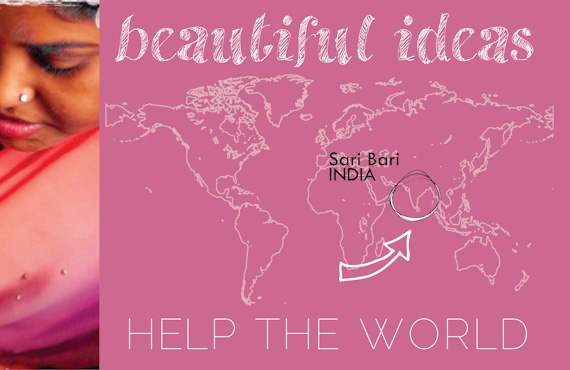 beautiful ideas help the world: asia {sari bari giveaway
