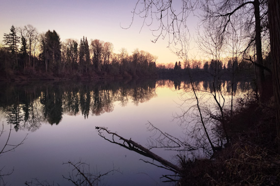 Willamette River at Champoeg State Heritage Area