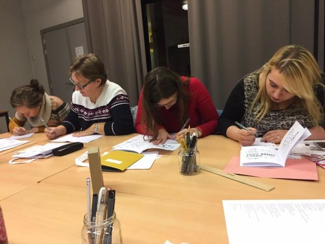 IMG_5062 Femma-workshop: Handlettering met Mino Papersweets