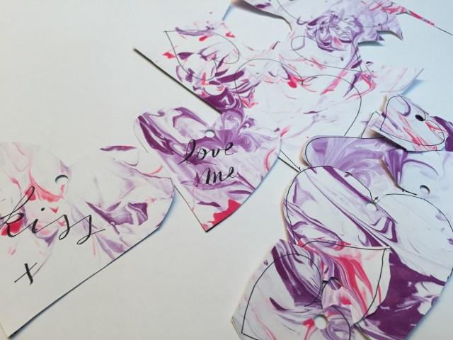 marmer-hartjes-1 Valentijnsknutselen: Papier marmeren