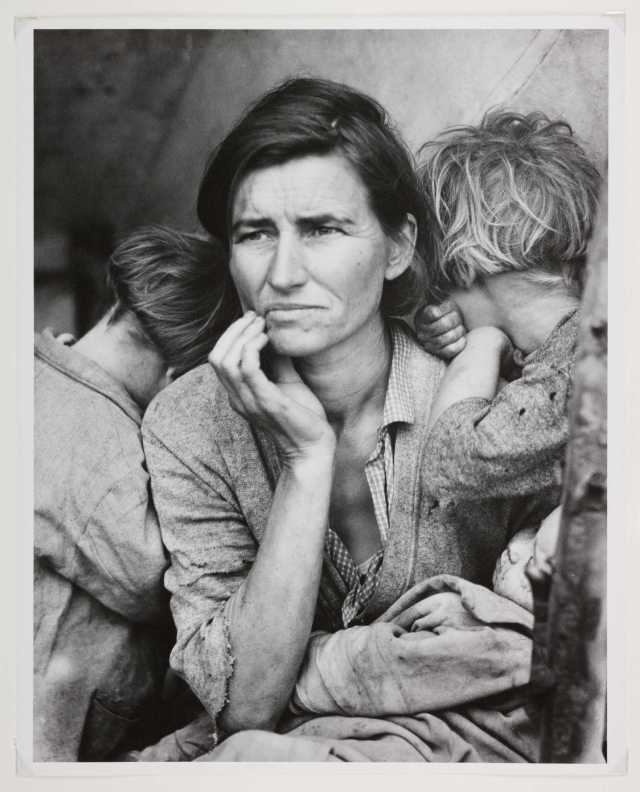 Migrant_Mother_Nipomo_California_3588771589 Dust Bowl USA - gedocumenteerd door Dorothea Lange