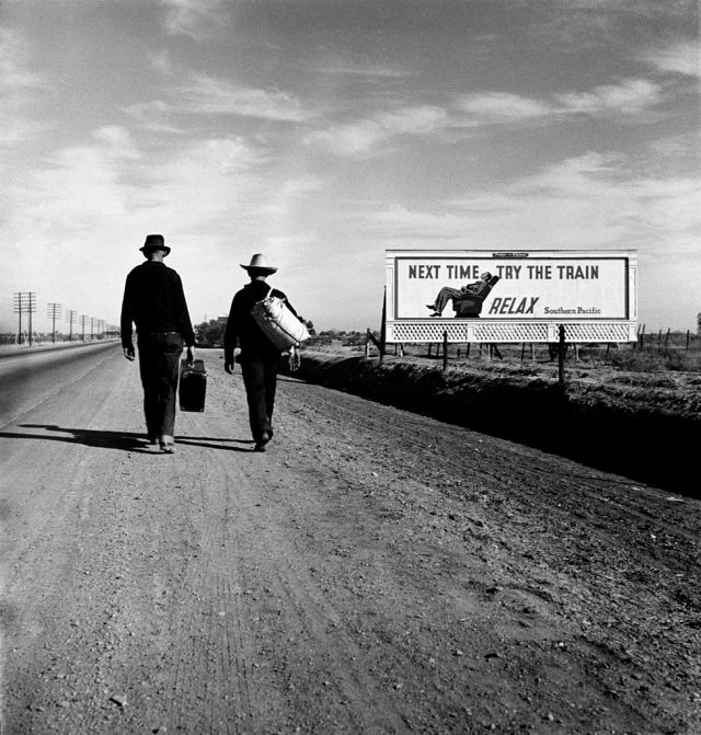 Toward_Los_Angeles_CA_8b31801u_edit Dust Bowl USA - gedocumenteerd door Dorothea Lange