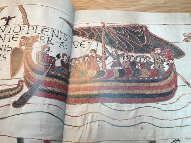 16A5E5BD-3B77-4323-BE54-03F4F81C5CCA Het tapijt van Bayeux: een oud stripverhaal