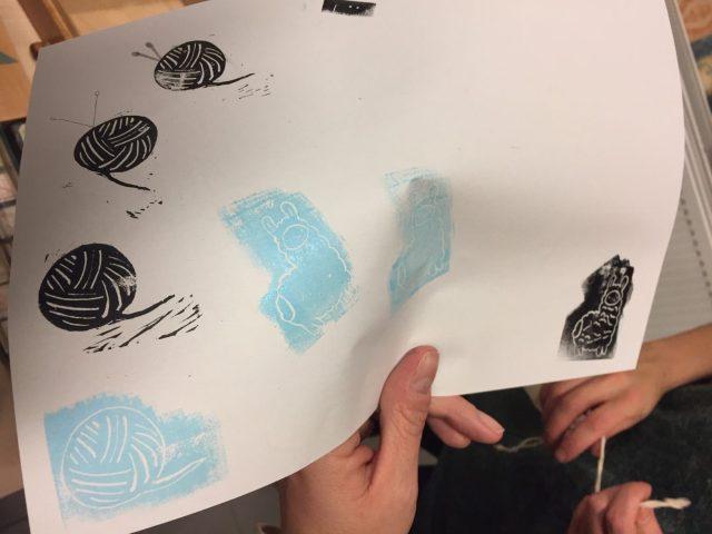 lama-en-wol-stempels-e1512465946263 Femma workshop: Stempels maken met .tonBouton