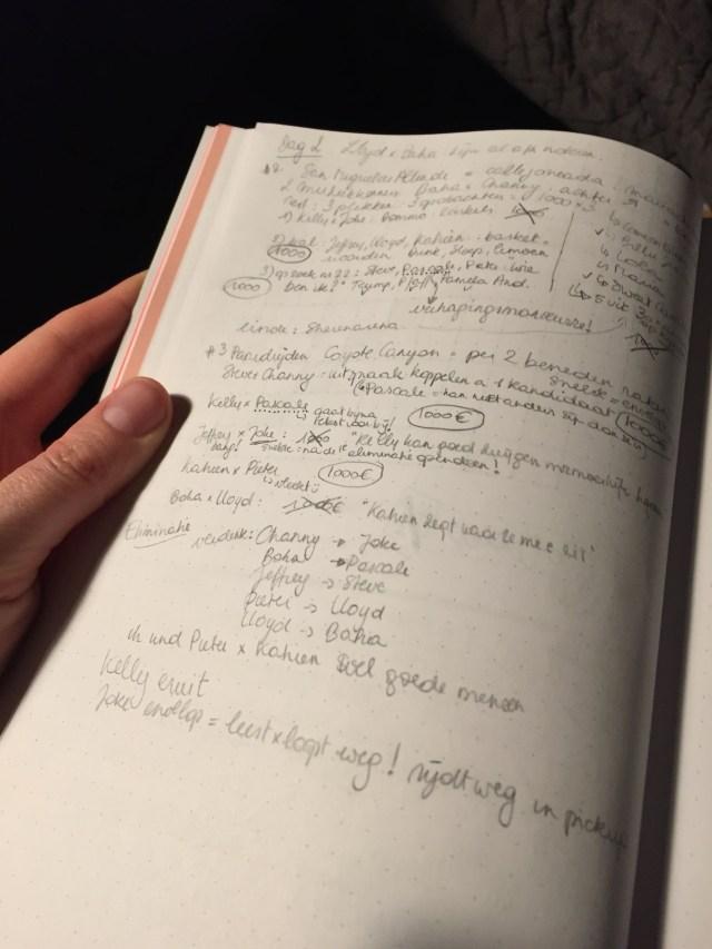 mol-notities De Mol 2018: we gaan weer op mollenjacht! Aflevering 1'