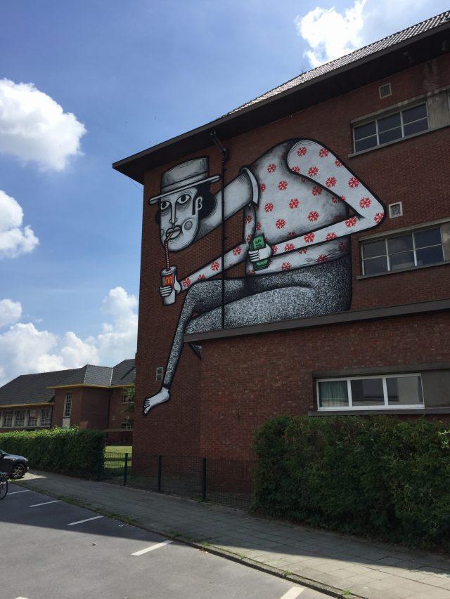 8AB3E7BD-CBED-4397-8D66-9D9B22DB02A3-e1528095852801 Kaleidoscope - street art in Dendermonde
