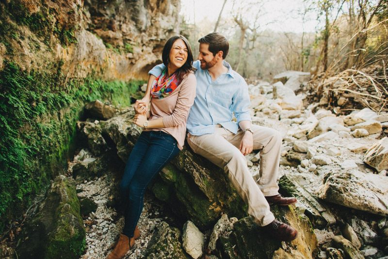 South Congress Engagement Session Zliker Park