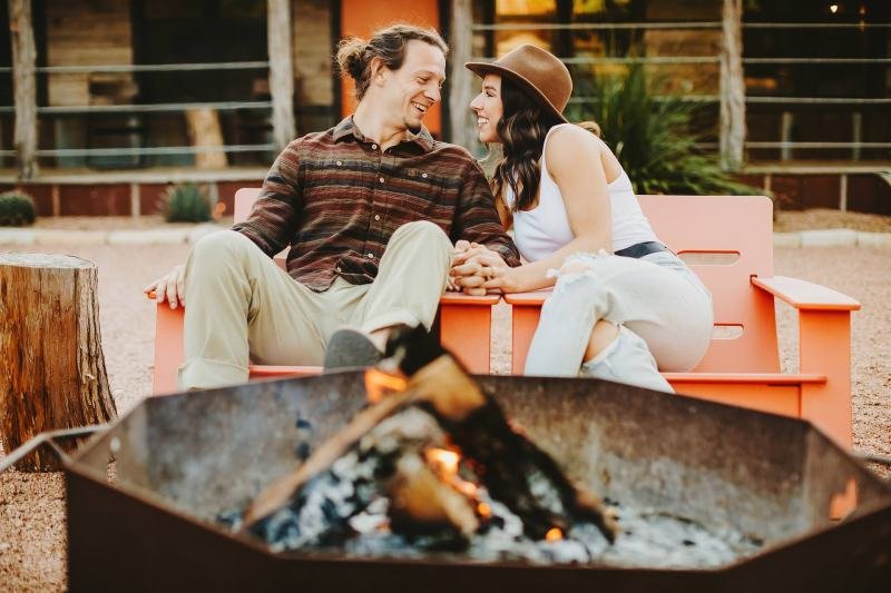 Austin Hill Country Engagement Photographers