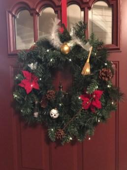 Homemade wreath