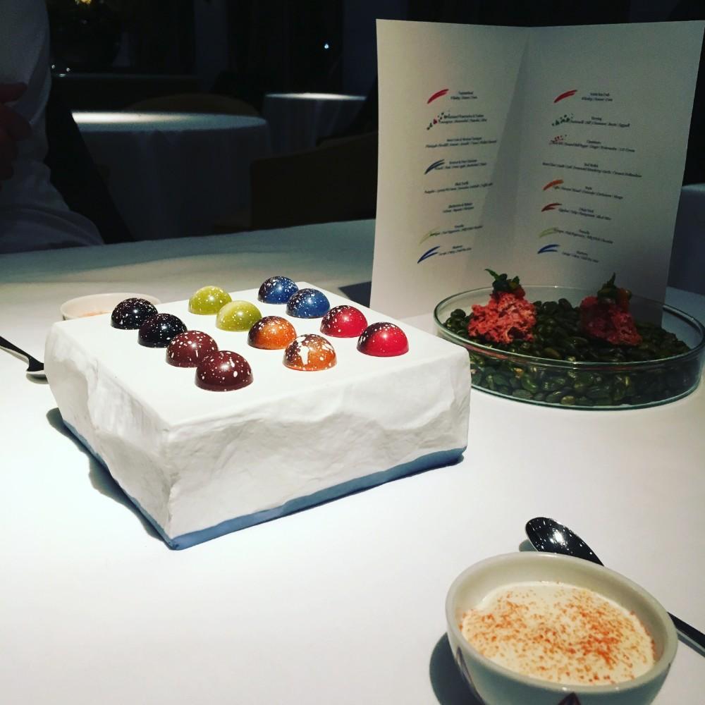 Wonderful Michelin Star Food-Spectrum, Amsterdam