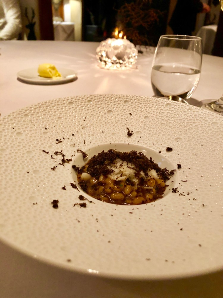 Michelin star restaurants with room