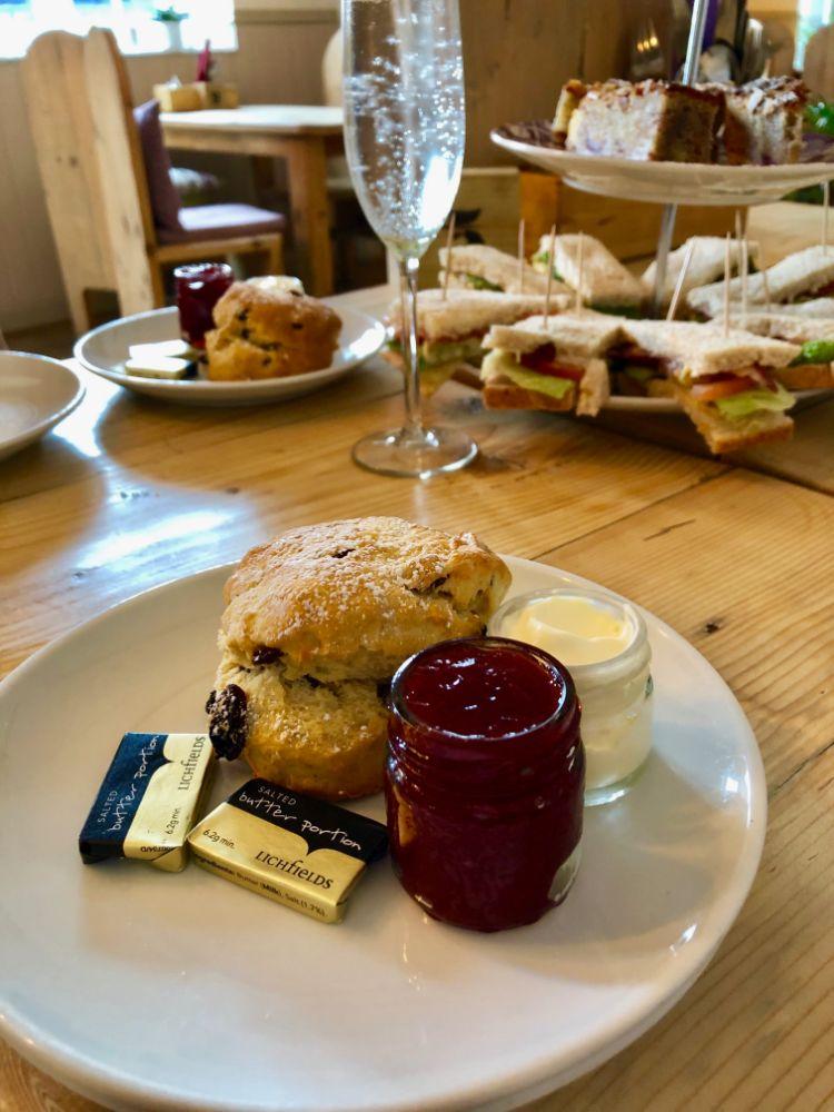 afternoon tea near Cambridge