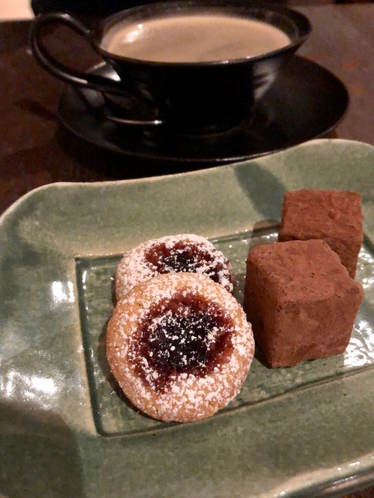 Nathan Outlaw petit fours