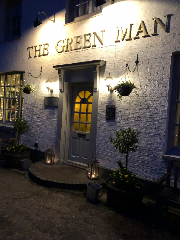 The Green Man, Thriplow Review