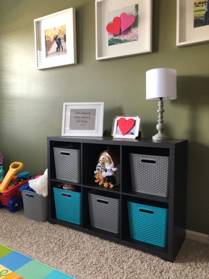 Clear the Clutter KID SPACE | twoplusmeandyou.com